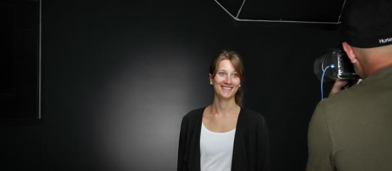 bewerbungsbilder-vom-fotografen-christian-hanner am Karrieretag Freiburg 2019